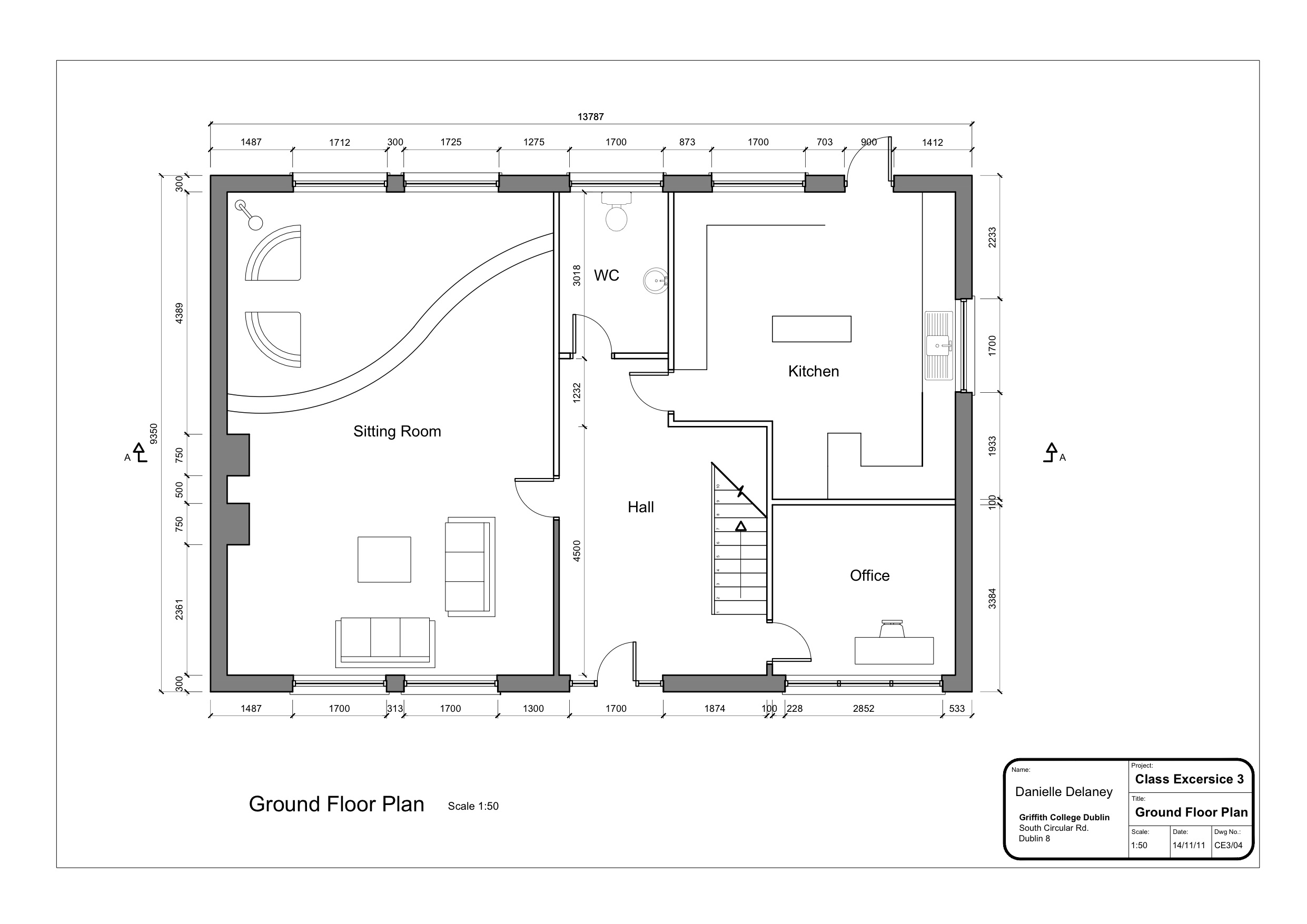 Floor plan with dimensions apartment building floor plans for 2 floor building plan